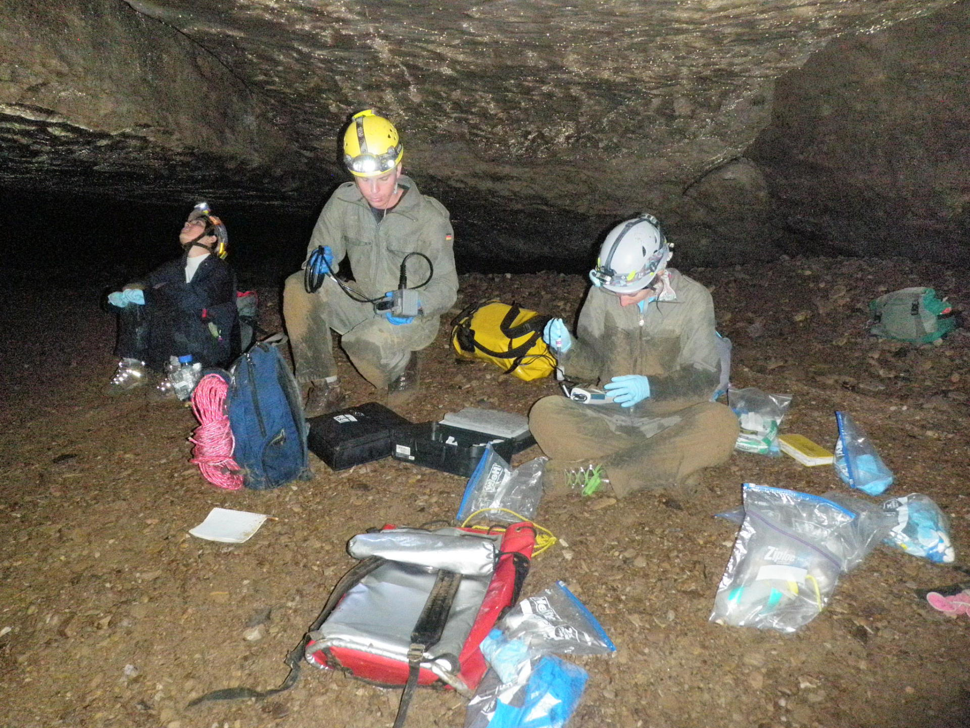 Caving & field gear